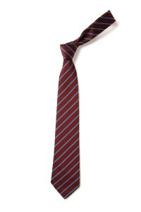 (Year 6 Only) Maroon/Saxe Tie - for Choppington Primary School