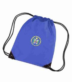 Royal PE Bag - Embroidered with Walkergate Community School logo