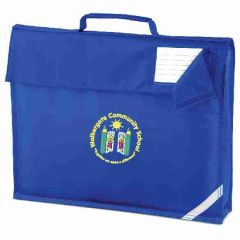 Royal Bookbag - Embroidered with Walkergate Community School logo