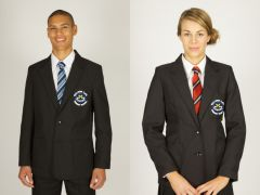 Boys Black Blazer - Embroidered with Wallsend St Peters CofE Primary School Logo