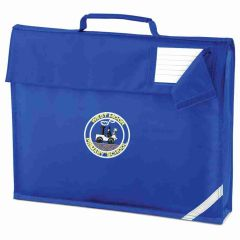 Royal Book Bag - Embroidered with Westmoor Primary School Logo