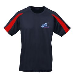 PE Cool T-Shirt - Embroidered with Whitley Bay High School Logo
