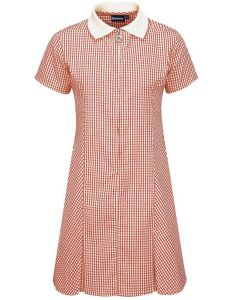 Red/White Gingham Dress for Whitley Memorial CE Primary School (No Logo)