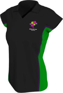 Girls PE Polo - Embroidered with Whitworth Park Academy logo