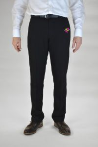 Boys Senior Black Trousers (TLT) - Embroidered with Whitworth Park Academy logo